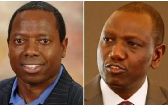 DP Ruto's younger brother, David Ruto given a special assignment in Kisumu
