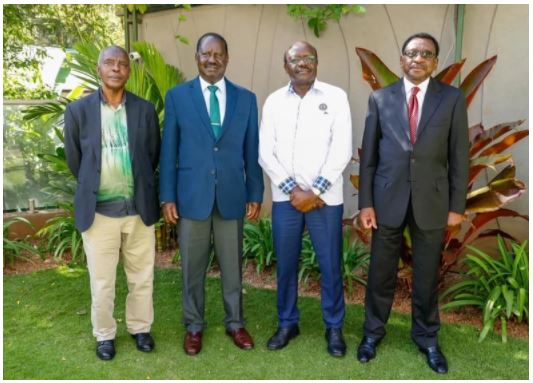 Dr. Mukhisa Kituyi reveals details of his meeting with Raila amid reports of a mega-alliance to counter DP Ruto