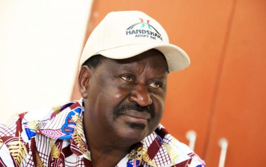 Raila acts swiftly a day after Kakamega Governor Wycliffe Oparanya met DP Ruto