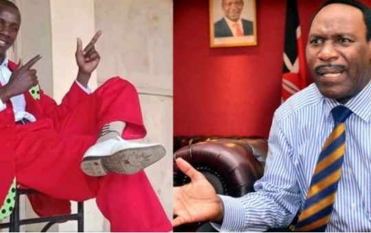 KFCB boss Ezekiel Mutua Promises to Help Embarambamba Financially after his NTV Interview