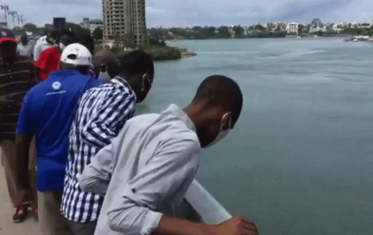 Mombasa man commits suicide by jumping into the Indian Ocean at Nyali bridge