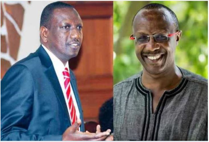 Jitters in Uhuru's camp after DP Ruto's meeting with renowned economist David Ndii