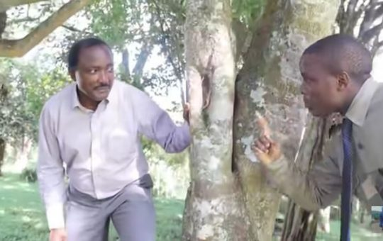 The truth behind hilarious video of Kalonzo acting alongside Crazy Kennar