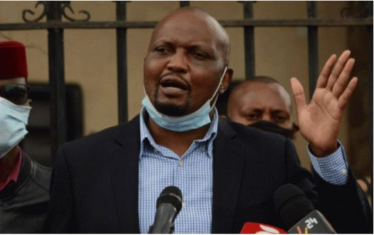 Moses Kuria's warning on the postponement of the 2022 general elections elicits mixed reactions
