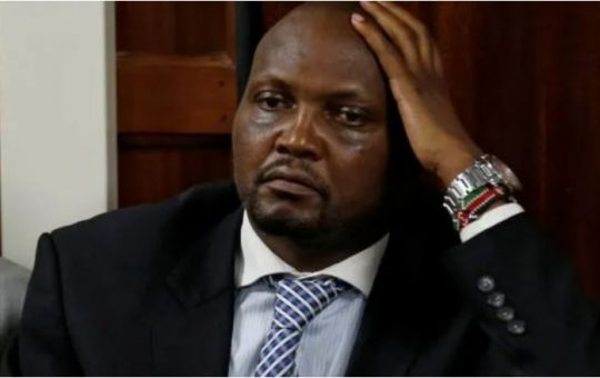 Moses Kuria's candid offer to help Raila address cracks in his ODM house backfires