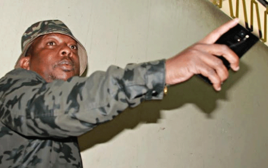 Mike Sonko lights up social media with video of himself working at a construction site (Video)