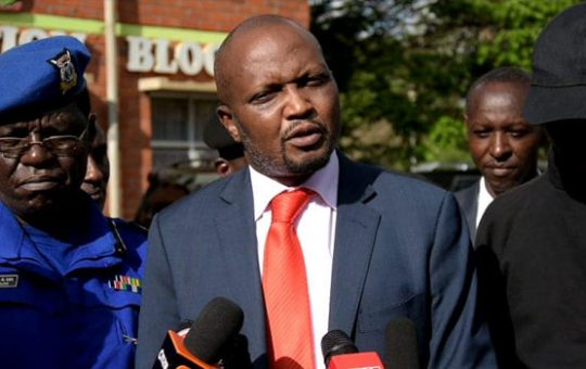 Moses Kuria takes to social media in a mad rant after police arrested the wife to his close ally