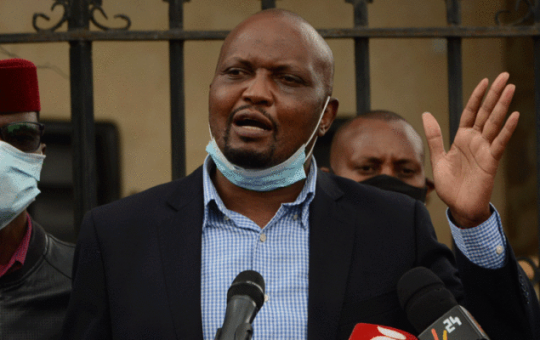 Moses Kuria issues warning to IEBC, reveals secret meeting over Juja and Bonchari by-elections