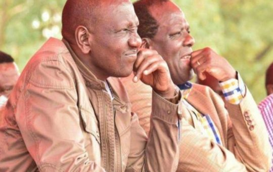 """I Can't Ignore Ruto, He's Unbeatable in Rift Valley""-Raila's Deputy on teaming up with DP Ruto"