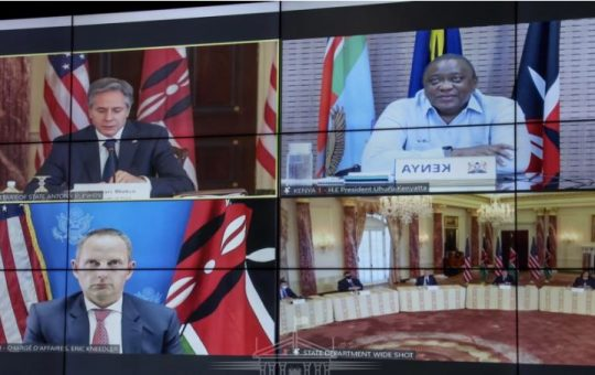 Details of President Uhuru's meeting with the US secretary of state