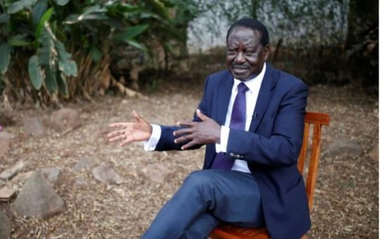 Raila adopts a ruthless strategy after meeting Gideon Moi and Muhoho Kenyatta
