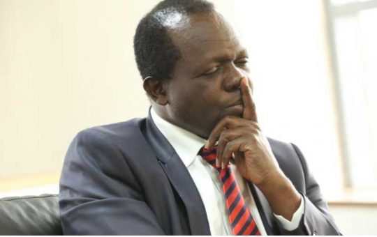 CS Raphael Tuju speaks on staring at death in the face and his greatest fear following grisly accident that left him with 13 broken ribs
