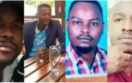 Mystery man and woman surfaces in the murder of 4 Kitengela friends as new details emerge