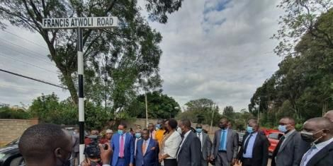 Nairobi Road named after Atwoli as Government the COTU boss