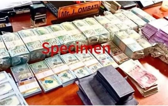 3 Arrested as Police Seize Ksh37B Fake Currency and Gold in dramatic raid