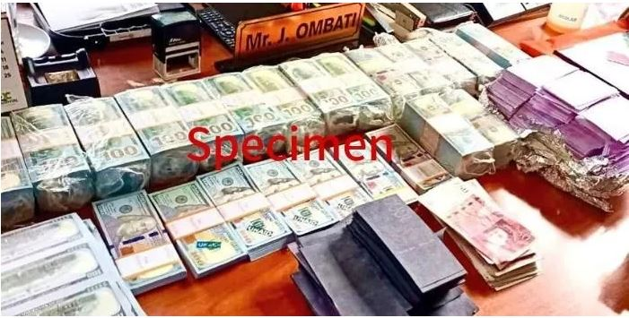 Over Ksh 37 billion fake currency seized on May 4, 2021
