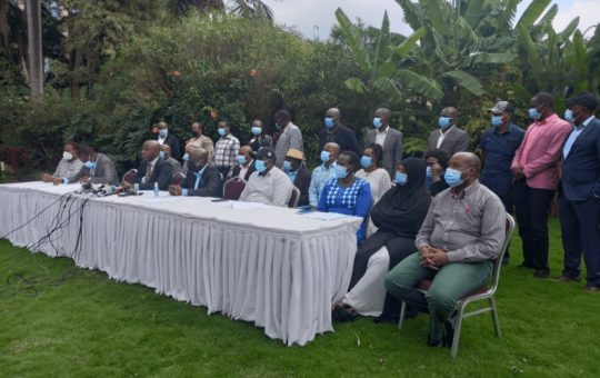 High Court Ruling on BBI is a Coup on Uhuru - Lawmakers From 47 Counties Declare