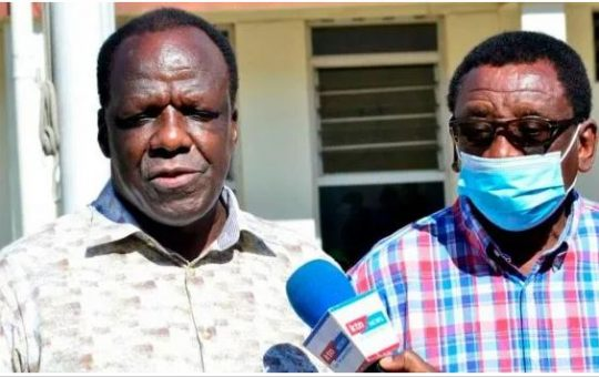 Raila's Deputy Sides With Orengo and Otiende Amollo as fallout in ODM takes a new twist