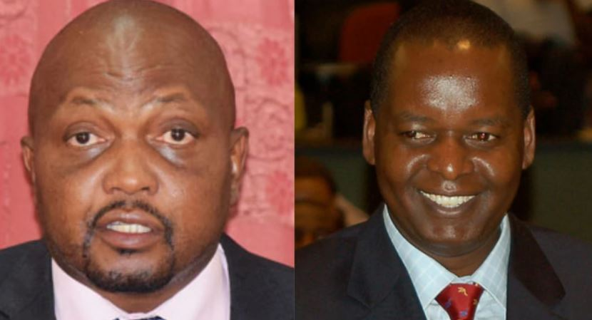 """""""Who the hell do you think you are? PUGA!"""" Moses Kuria confronts Amos Kimunya in nasty exchange, exposes his dirty dealings"""