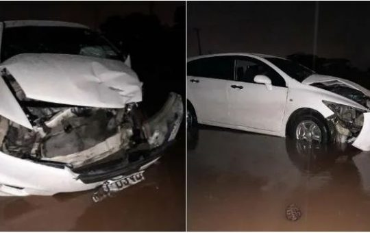 Popular Citizen TV Actress Hospitalized in Nairobi After a Train Rammed into Her Car