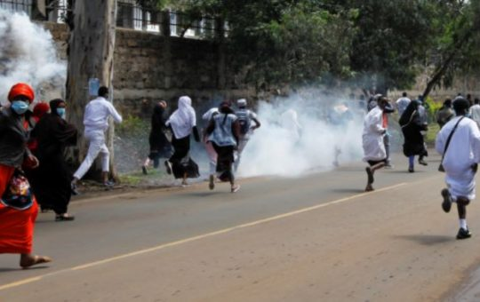 Drama as police descend on Ndindi Nyoro's supporters mercilessly [Video]