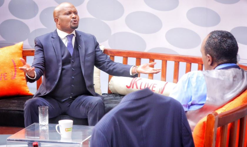 """""""Mimi hupenda Baba sana"""" Moses Kuria opens up on love for Raila, compares him to a cheap lady in embarrassing remarks"""