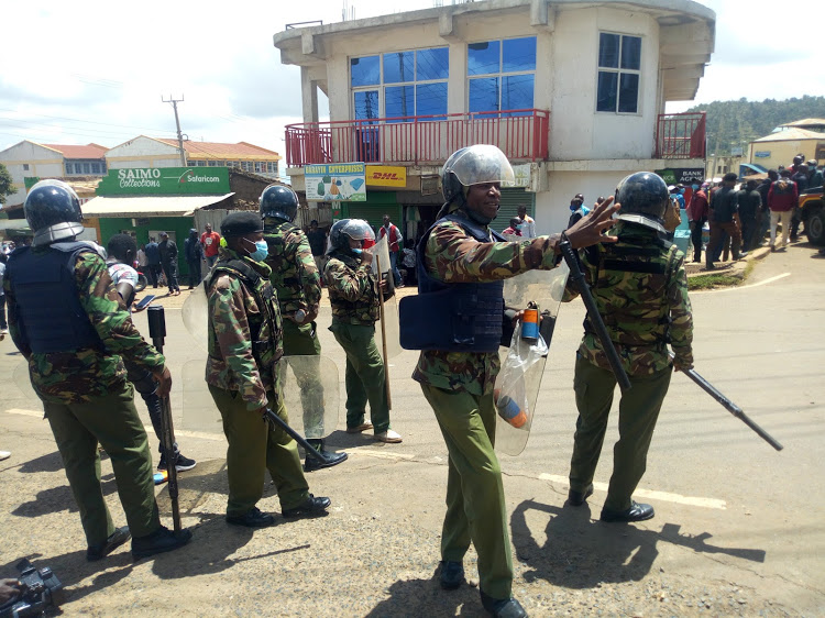 Teargas Lobbed into the Air as Police Clash With Kenyans Celebrating the Fall of BBI Following High Court Ruling