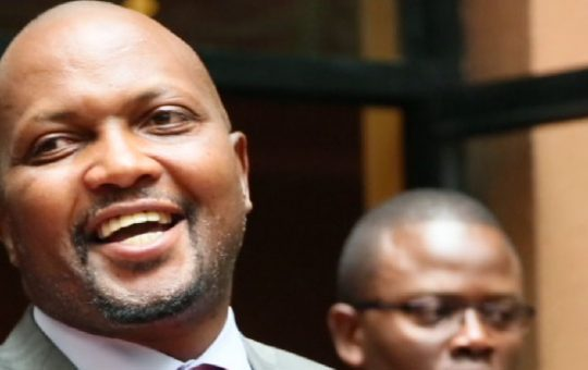 Moses Kuria celebrates remarks on BBI Report made by  Raila's footsoldier during Citizen TV interview