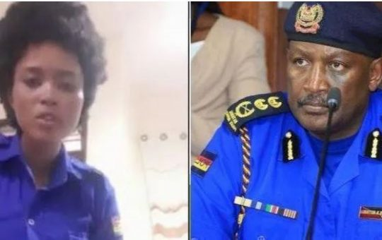 Police IG Hillary Mutyambai springs into immediate action following officers viral resignation plea (Video)