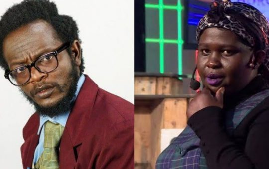 Bitter fight between comedians Jemutai and Professor Hamo takes ugly turn as she speaks of damning recording