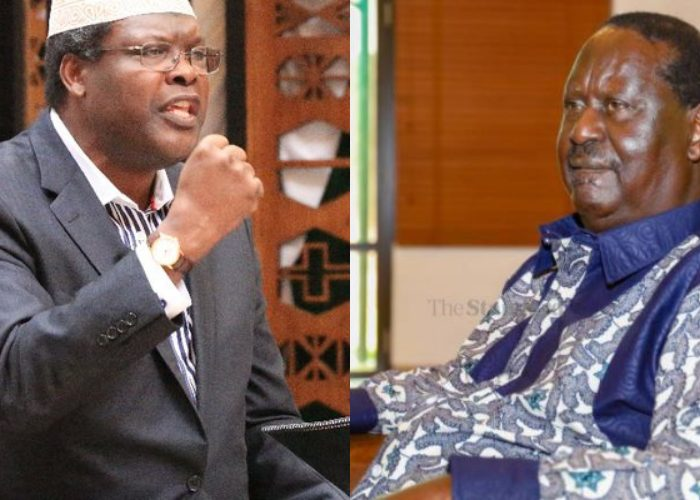 Raila is what the Luos call ONJIRI – an insect with no memory- Miguna Miguna responds to Raila's remarks on BBI ruling