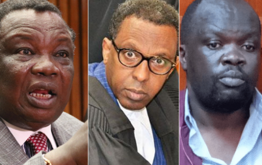 """""""What have you done in this life other surviving on extortion?"""" Francis Atwoli, Blogger Robert Alai and Lawyer Ahmednassir Abdullahi engage in bitter exchange"""