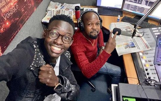 MCA Tricky Replaced as Alex Mwakideu's Co-Host in Milele FM Restructuring