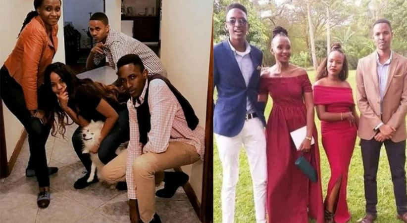 Amazing and rare photos of Esther Musila & her 3 Kids surface online (Photos)