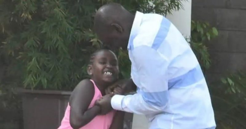 5 beautiful photos of DP Ruto bonding with his youngest daughter Nadia Cherono: Father's love is priceless (Photos)
