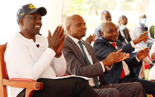 """DP Ruto teams up with Moses Kuria to launch """"The Hustler Nation Excellence Awards"""" (Photos)"""