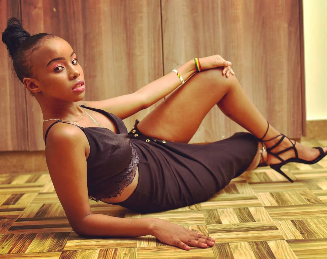 8 Delectable photos of Kartelo's beautiful girlfriend who was unveiled to the world today