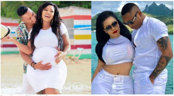 Brown Mauzo surprises fans recording himself while singing Otile Brown's song to wife Vera Sidika