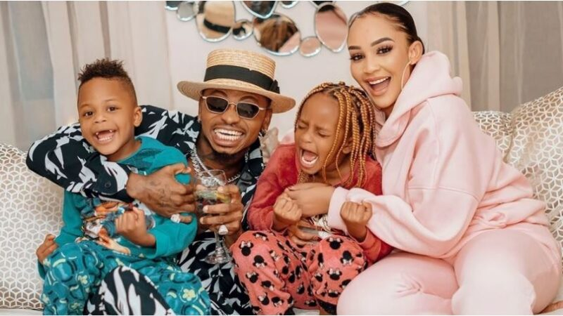 Zari's special Message to Diamond, Accompanying  this Family Portrait Excites Fans