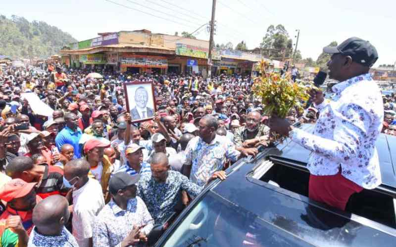 DP Ruto Witnesses His UDA Entourage Being Booed and Roughed up During Kiambu Tour